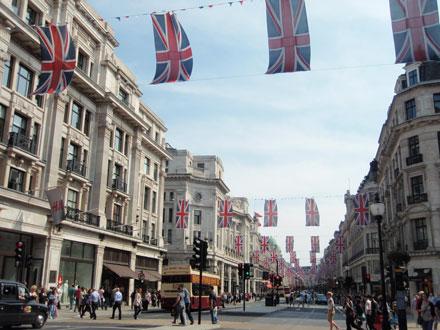 ロンドン 街並み
