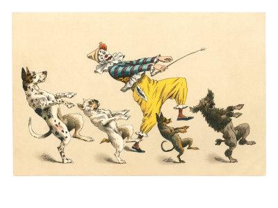 ピエロと踊る犬