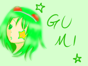 GUMi落書き