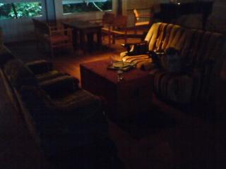 ラブラックカフェ・布ソファの席