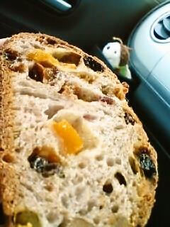 フルーツのパン
