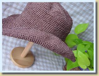 アンダリア<ラフィー>帽子