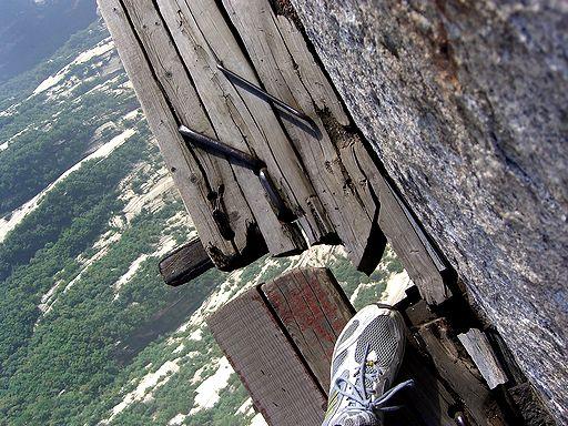 Mt Huashan danger