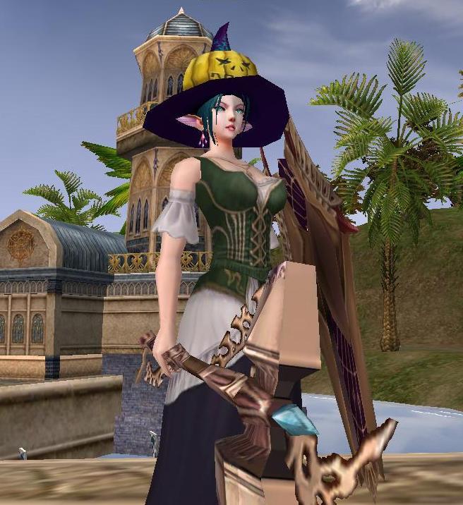 ハロウィン帽子のfielia