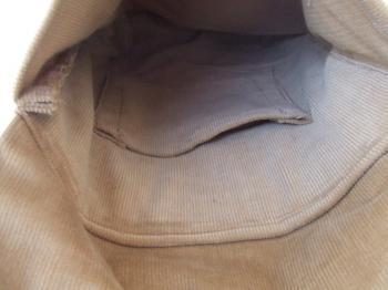 中のポケット