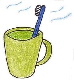 歯ブラシの保存