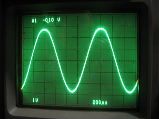 無改造T511kHz正弦波