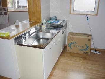 ソーラー住建 キッチン