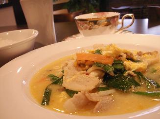 中華風卵とじスープ