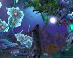 魔族の世界もこんなにきれいですよ。