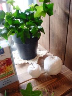 コピー ~ 紙粘土リンゴ