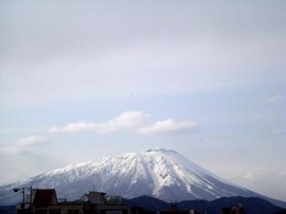 3月22日岩手山