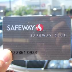 セーフウェイ 会員カード