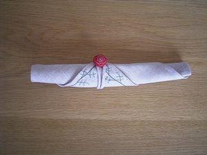 バラ お箸袋