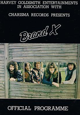 BrandX TourProgramme