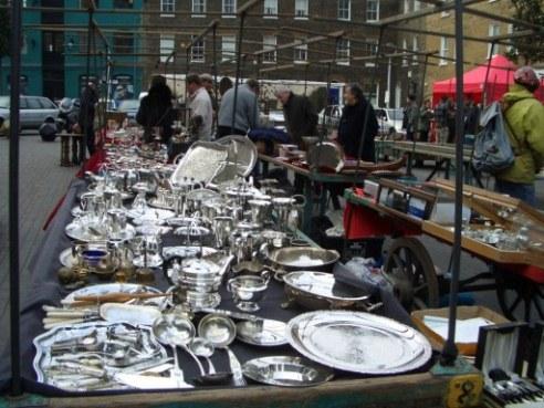 Bermondsey Square アンティークマーケット