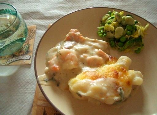 イギリス料理を学びました。