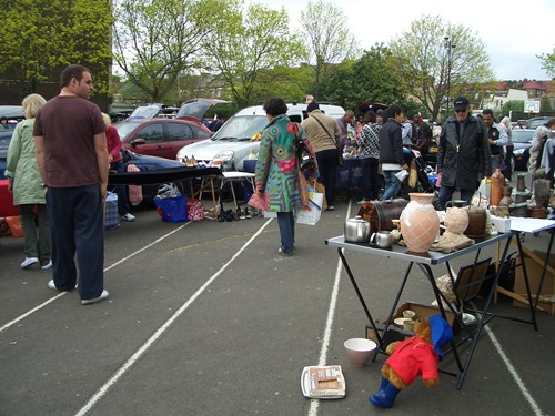 Battersea Car Boot Sale