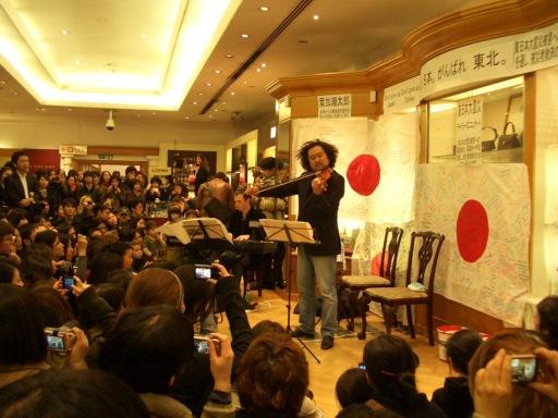 葉加瀬太郎さんのチャリティコンサート