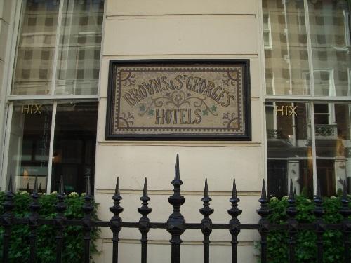ブラウンズホテルでアフタヌーンティー