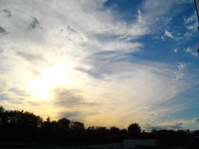 東村山の空