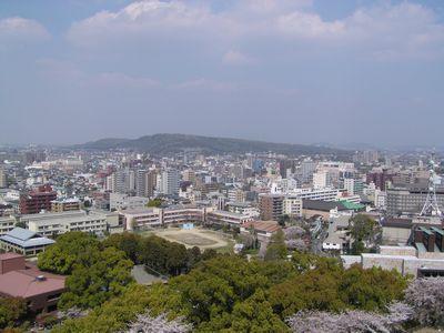 熊本城より