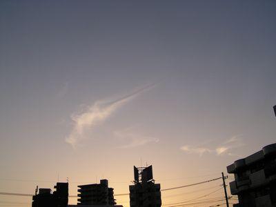 090423夕焼け