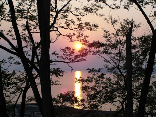 090428瀬戸内夕陽