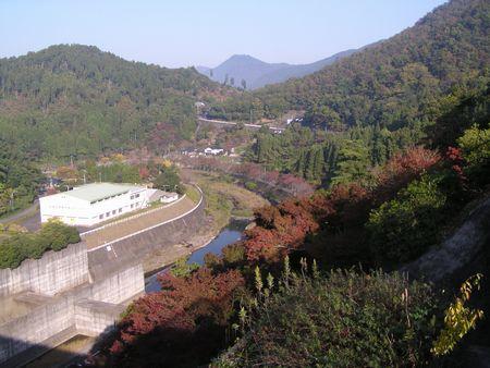 211031 耶馬渓ダム6