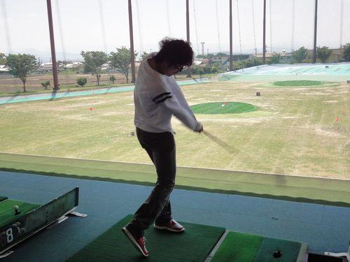 220516 ゴルフ練習1