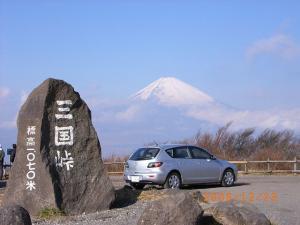 三国峠 富士