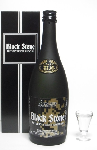 酒粕焼酎 ブラックストーン