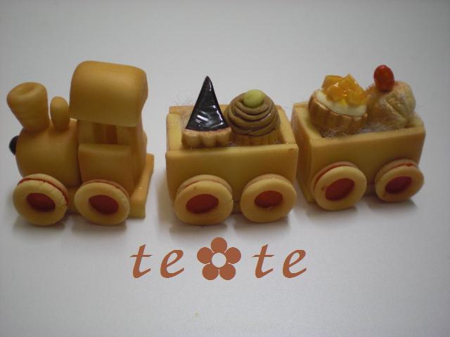 cakeを乗せて・・・・