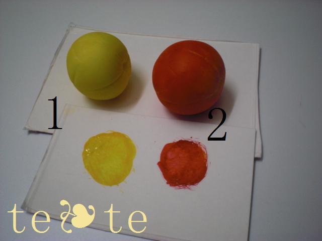ウサ林檎2色入れ