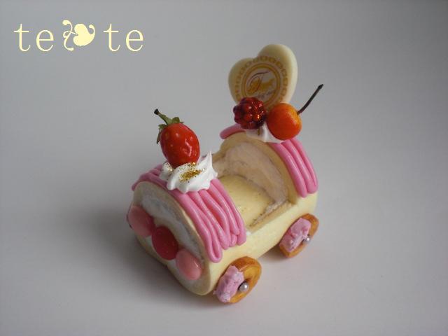 ロールケーキ車 ピンクversion
