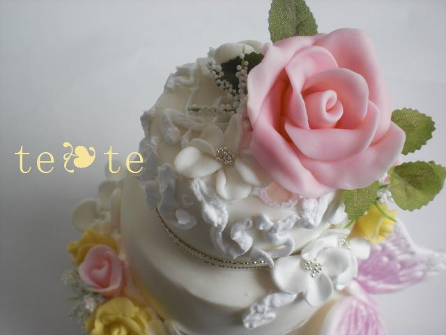 weddingcake 三段