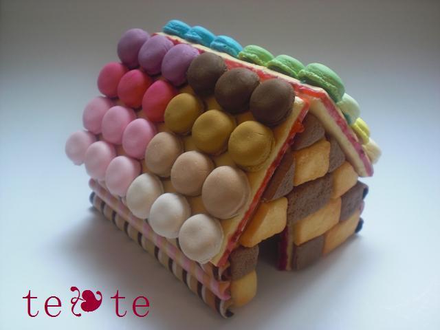 お菓子の家マカロン2