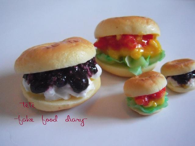 blueberryサンド 卵サンド