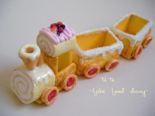 お菓子汽車