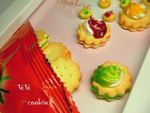 *デコ画*cookie cream完成