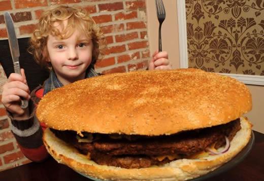 クォーターパウンダー26個分のハンバーガー