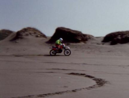 コピー ~ 砂浜滑走