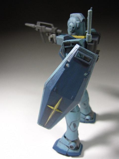 旧キット GMⅡ完成 (8)