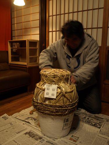 2紹興酒龜開け儀式