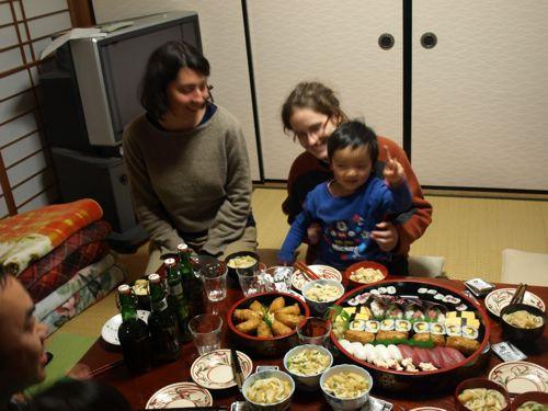 7お寿司パーティ