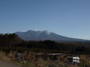 8晴れ渡る八ヶ岳