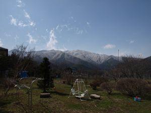 3庭から見える景色