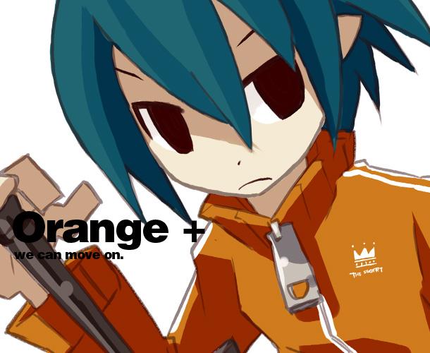 緑髪オレンジャージャズ
