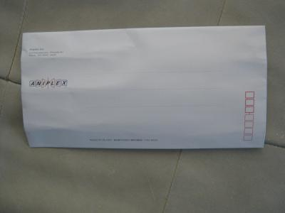 ANIPLEXからの手紙?