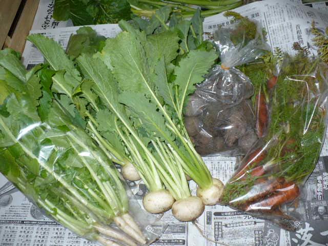 お野菜いっぱい♪